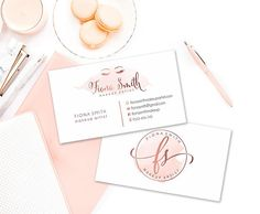 This listing is a rose gold branding kit, perfect for your photography, wedding, boutique business, etsy shop or blog. ♥THIS BRANDING PACKAGE IS NOT OOAK(one of a kind) AND WILL BE RESOLD♥ OPTIONS: ♥ Main logo only: You will get only the main logo with the lashes. After you give me