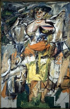 Willem de Kooning on Painting Women.