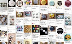 Make money making and selling button badges.