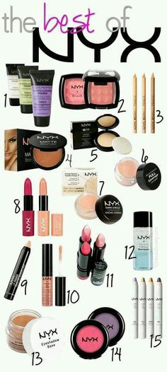 The best of NYX. #NYX #ItsTheBest