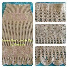 Crochet Skirts, Crochet Blouse, Crochet Scarves, Crochet Clothes, Crochet Top, Crochet Flower Patterns, Crochet Flowers, Diy Crafts Hacks, Cotton Crochet