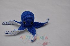 Pulpo azul.  www.facebook.com/artsusania