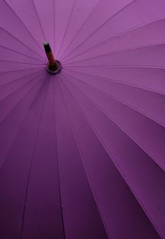 Umbrella in Radiant Orchid Color of the year Pantone 2014