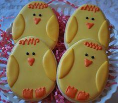 Easter Chicks by Sweet Goosie Girl, via Flickr