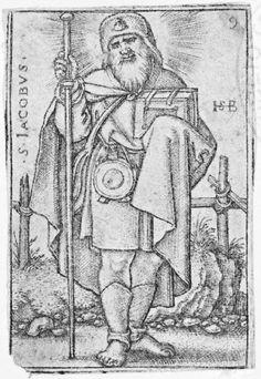 [Los doce apóstoles]. Monogramista H.S.D. (fl. 1550-1600) — Grabado — 1570-1570