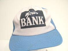 YOUR BANK HIPSTER COOL TRENDY SWAG BASEBALL TRUCKER CAP HAT LID  #BaseballCap