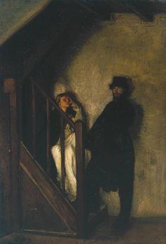 "tierradentro:  ""The Doll's House"", 1899-1900, Sir William Rothenstein."