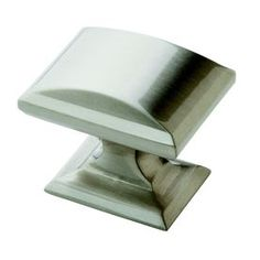 Amerock�1-1/4-in Satin Nickel Candler Rectangular Cabinet Knob