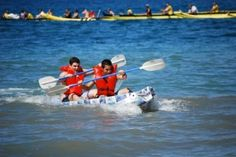 The Annual Milk Carton Regatta in Maui (how do you get to be a judge at this one?!?)
