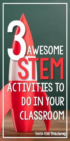 3 AWESOME STEM Challenges To Do In Your Classroom Read about three easy to implement STEM challenges for your classroom. STEM education can be used to review key math and science concepts, along with critical thinking and team-building.