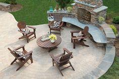 Adirondack Chair Cape Cod Style -Trex Outdoor Furniture - Outdoorsrockingchair.com