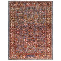 Antique Zigler Sultanabad Persian Rug