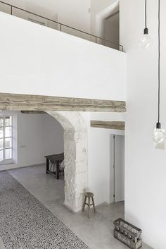 Mediterranean villa renovation projects by Dutch Designer Brand COCOON. Natural wooden beams and stone floors. Villa Design, Design Hotel, Loft Design, House Design, Design Design, Design Ideas, Modern Interior Design, Interior Design Inspiration, Interior Architecture