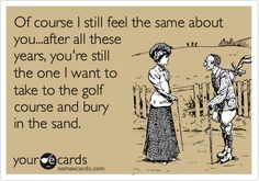 And they say golf is boring...
