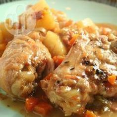 Slow cooker chicken casserole @ allrecipes.co.uk