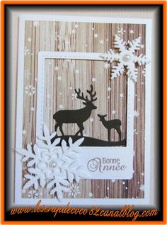 Happy New Year card – The Scrap – Christmas Christmas Christmas Homemade Christmas Cards, Christmas Cards To Make, Christmas Tag, Xmas Cards, Diy Cards, Homemade Cards, Holiday Cards, Horse Cards, Happy New Year Cards