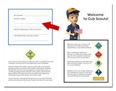 A Peek Into My Cub Scout Binder | Pinterest | Binder, Organizing and ...
