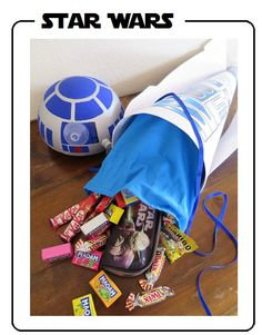 STAR WARS candy cone for start of School - DIY