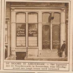 Amsterdam moordlogement 1926 | by janwillemsen