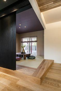 和室/インテリア/クロス/エルクホームズ Plain Wallpaper, Home Interior Design, Nook, Table, House, Furniture, Home Decor, Japan, House Interior Design