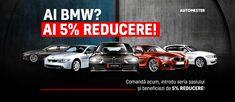 Ai un BMW ❓ Pregateste-l pentru vacanta si ai reducere la fiecare comanda in luna iunie! Cumpara online piese auto pentru revizie, anvelope, suport si cutii portbagaj, statii radio‼️ Acum si in 12 rate fara dobanda! Bmw Cars
