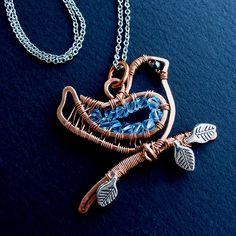 Little Bluebird Necklace - close by Ruth Jensen, via Flickr