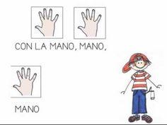 """""""Juan pequeño baila"""" - Canción con pictogramas"""