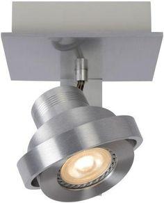Opbouwspot Luci LED - 1 licht - Zilver - Zuiver