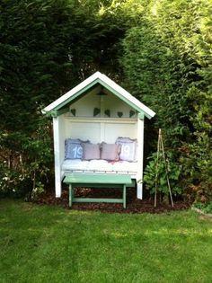 Lekker knus huisje voor in de tuin