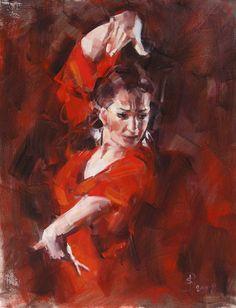 танец фламенко - Поиск в Google Audrey Kawasaki, Dance Paintings, Cool Paintings, Bo Bartlett, Exotic Dance, Dance Images, Art For Art Sake, Dance Art, Gustav Klimt