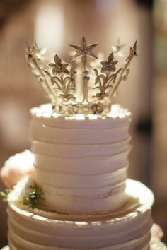 Crown cake topper - fun for princess party