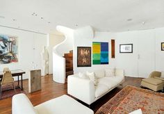 Living Room Concept: Urban and artistic lifestyle. {London Residence}