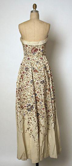 Вечернее платье Дом Balmain  1953 г