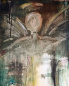 """""""Struggle"""" by Carrie Kohan The struggle Faceless Angel Painting Carrie, Carry On, Angel, Artwork, Painting, Work Of Art, Hand Luggage, Auguste Rodin Artwork, Carry On Luggage"""