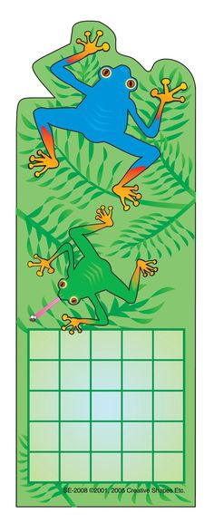 Personal Incentive Chart - Tree Frog