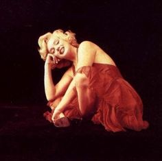 1957, Milton captures Marilyns,  highly erotic, yet playful charm.