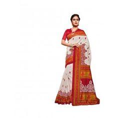 The Wonderfab Bhagalpuri Silk Printed Saree With New Design