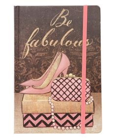 Loving this 'Be Fabulous' Bound Journal on #zulily! #zulilyfinds