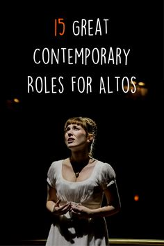 15 Great Contemporary Roles For Altos - Theatre Nerds Musical Theatre Songs, Act Theatre, Theatre Quotes, Theatre Nerds, Theatre Problems, Theatre Auditions, Broadway Theatre, Singing Lessons, Singing Tips