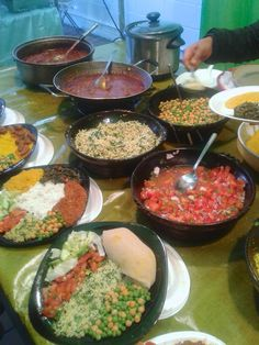 Etiopisk mat i Brick Lane
