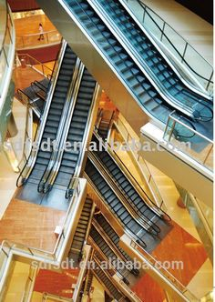 (EN115) Escalator product Professional elegant FJZY manufacture /Escalator price of japan technology