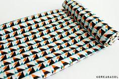 Scandinavian Fabric  Nordic Fabric  43 x 55  100% by KoreaBacol