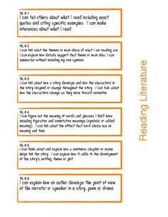 Student Friendly 6th grade common core standards