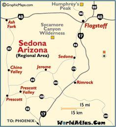 Sedona, AZ~ took the road less traveled, hwy 89 through Jerome to Prescott.