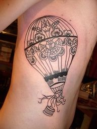 air balloon tattoos - Google Search