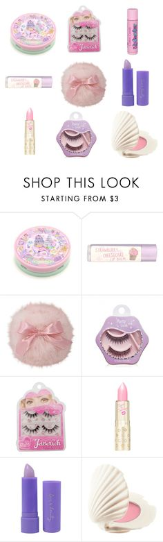 """Cute make-up"" by sweetpasteldream ❤ liked on Polyvore featuring beauty, Paperchase, Etude House, Forever 21, H&M and Cotton Candy"