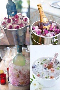 gelo de rosas