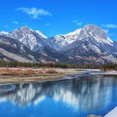 Spring hits Jasper, Alberta, #Canada.  Photo courtesy of mthiessen on Instagram.