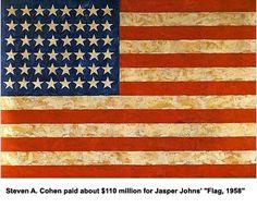 Jasper Johns Flags Making Headlines For Six Decades