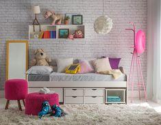 7 Dicas de organização para quartos infantis   Blog da Mobly Teen Bedroom, Baby Room, Toddler Bed, Entryway, Room Decor, Kids Rugs, Storage, Instagram Posts, Furniture